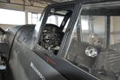 Verriegelung der Cockpithaube