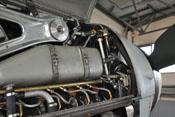 Kühlmitteltank des Bf-109-Flugmotors