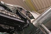 Lader und Motorträger des Daimer-Benz DB 605