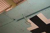 Ausgleichsgewicht für das rechte Querruder der Messerschmitt Bf 109