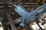 Messerschmitt Bf 109 E-4 'WNr 1407' des Technikmuseums in Berlin-Kreuzberg