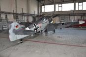 Messerschmitt Bf 109 G-4 'rote 7' nach den Flugvorführungen auf der ILA 2010 in Berlin
