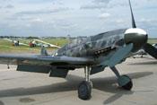 Messerschmitt Bf 109 G-6 FM+BB der Messerschmitt-Stiftung auf der ILA 2006 in Berlin