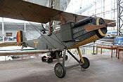 Britischer Bomber Royal Aircraft Factory R.E.8 von 1916 im Militärmuseum Brüssel