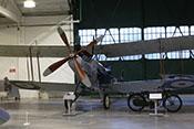 Britischer Bomber Royal Aircraft Factory R.E.8 von 1916 im RAF-Museum London-Hendon