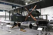 Nachbau des schweren britischen Bombers Vickers F.B.27 Vimy von 1917 im Royal Air Force Museum London-Hendon