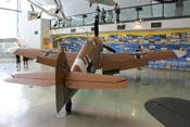 Messerschmitt Bf 109 G-2 trop 'Schwarze 6' im Royal-Airforce-Museum in London-Hendon