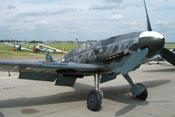 Messerschmitt Bf 109 G-6 'FM+BB' der Messerschmitt Stiftung auf der Internationalen Luft- und Raumfahrtausstellung in Berlin