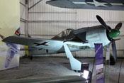Focke-Wulf Fw 190 A-8 'Würger' im Musee de l'Air et de l' Espace in Paris-Le Bourget