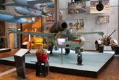 Heinkel He 162 'Volksjäger' im Technikmuseum in Berlin-Kreuzberg