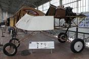Rumpf eines französischen Voisin III LA Druckschraubendoppeldeckers von 1915