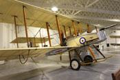 Vickers F.B.5 'Gunbus' der RAF - das erste als Jäger konzipierte Flugzeug der Welt