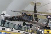Fokker D.VII im RAF-Museum London-Hendon