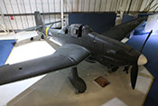 Ansicht der Junkers Ju 87 G-2 'WNr. 494083' des Royal-Airforce-Museums in London-Hendon