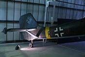 Rumpf und Heck der Junkers Ju 87 mit Höhen- und Seitenleitwerk