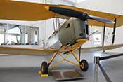 Britisches Doppeldecker-Schulflugzeug De Havilland D.H.82 Tiger Moth 'D-EDHA'