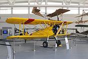 US-amerikanisches Doppeldecker-Schulflugzeug Boeing Stearman