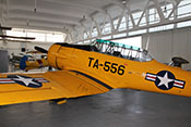 US-amerikanisches Schulflugzeug North American AT-6A Harvard Mk.II