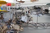 Wrack einer am 28. November 1940 beim Schneeberg (Niederösterreich) abgestürzten Messerschmitt Bf 109/E-3a