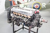 Flugmotor der Firma Rolls-Royce