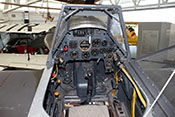 Cockpit der Messerschmitt Bf 109/G-14 (Replika)