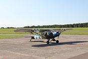 Schul- und Aufklärungsflugzeug Piper PA-18 Super Cub