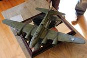 Boeing B-17 im Maßstab 1:48 als Teil der Modellbauausstellung