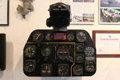 Instrumentenbrett einer P-51 'Mustang'