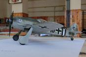 Modell einer Fw 190 A des JG 4 - gezeigt auf der Modellbauausstellung