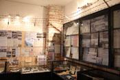 Ausstellungsraum zum Thema Kriegsgefangenschaft