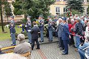 Gedenkveranstaltung für die am 11. September 1944 über Kovarska gefallenen Flieger
