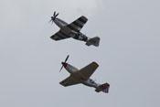 North American P-51 'Mustang' - Kunstflugvorführung der Flying Horseman
