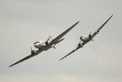Douglas DC-3 'Dakota' in Formation