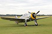 Curtiss-Wright P-36C G-CIXJ (1939)