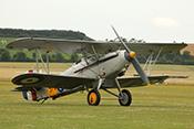 Doppeldecker Hawker Nimrod MkI '573' G-BWWK (1932)