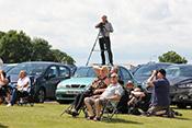 Zuschauer der Flying Legends 2016 in Duxford