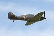 Hawker Hurricane Mk IIa RF-E (1942) G-HURI