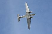 Überflug der Douglas DC-3 'Dakota' LN-WND