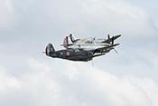 Curtiss-Formation - Hawk-75, P-40C und P-36C