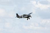 Grumman FM-2 'Wildcat' im Anflug zur Landung