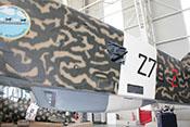 Seitlicher Schützenstand des Bombers Savoia-Marchetti SM79 Sparviero