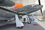 Fahrwerk des Jagdflugzeuges Fiat G 55 'Centauro' Serie I