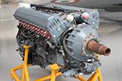Flugmotor der Spitfire - Rolls Royce Merlin 500-20