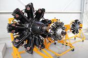 Historische Flugzeug-Sternmotoren