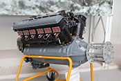 Flugmotor Fiat A24T