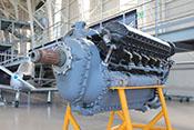 12-Zylinder-Flugmotor Allison V-1710 der P-38, P-39 und P-40
