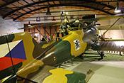 Tschechoslowakisches Beobachtungs- und Bombenflugzeug Letov S-2 (Seriennummer 16) von 1920