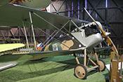 Doppeldecker-Jagdflugzeug Aero A-18 (Seriennummer 5) aus dem Jahr 1923
