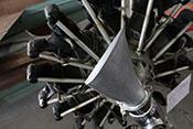 Profil der Letov-Luftschraube am Sternmotor Avia Rk-17