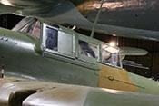 Gepanzertes Cockpit der Ilyushin Il-2m3 'Sturmovik'